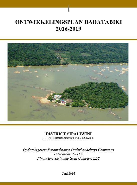 Ontwikkelingsplan Badatabiki FINAL