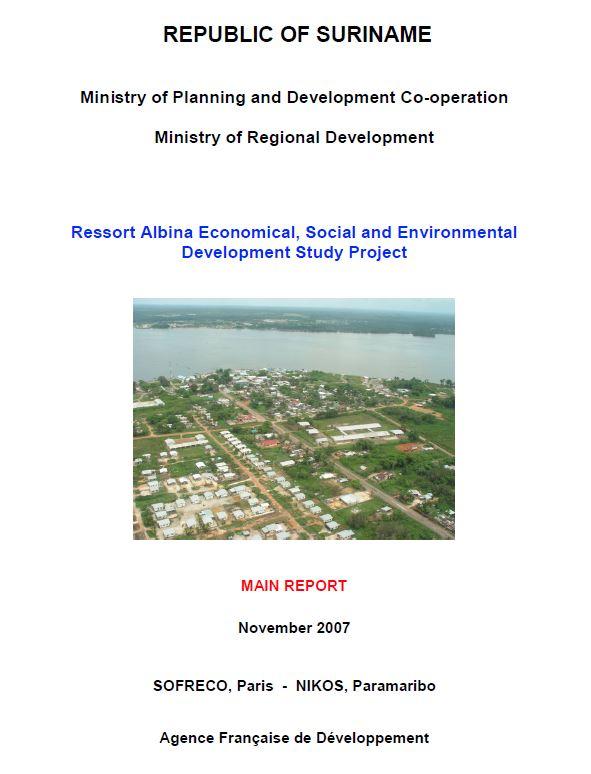 Ressort Albina Economical, Social and Environmental Development Study Project