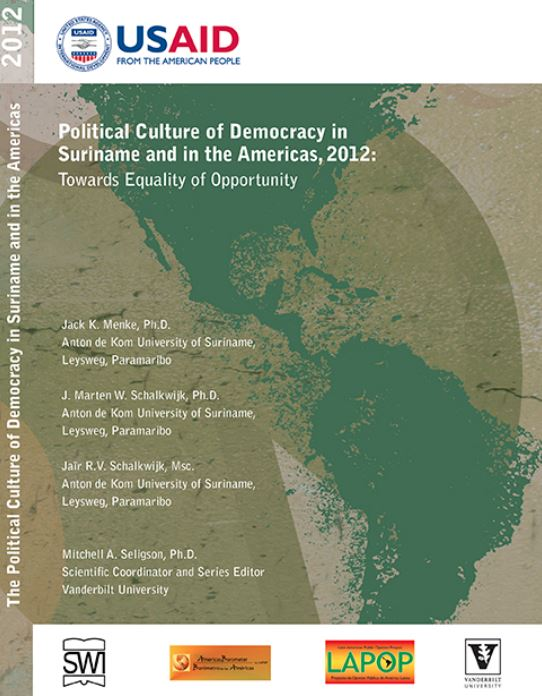 The Political Culture of Democracy in Suriname and in the America