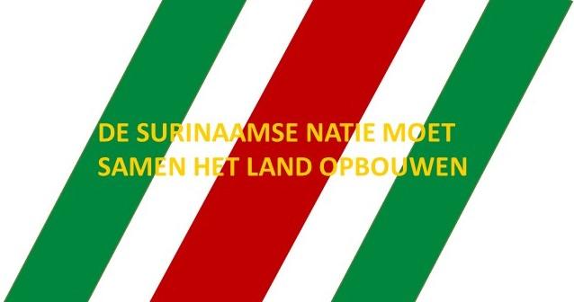 26 DE SURINAAMSE NATIE MOET SAMEN HET LAND OPBOUWEN 2