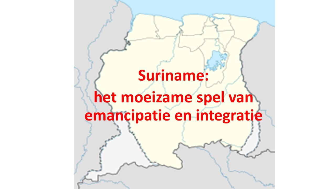 58 Suriname moeizame spel